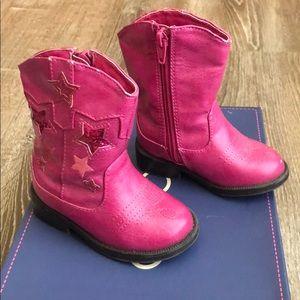 Cherokee Pink Stars Boots